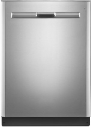 "Maytag MDB8959SFZ 24"" Energy Star Qualified Built-In Dishwasher With 5 Wash Cycles  5 Wash Options  Hard Food Disposer  PowerBlast Cycle  4-Blade Stainless Steel"