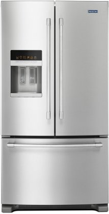 Maytag MFI2570FEZ 36 Energy Star Rated Freestanding French Door 24.7 cu. ft. Refrigerator