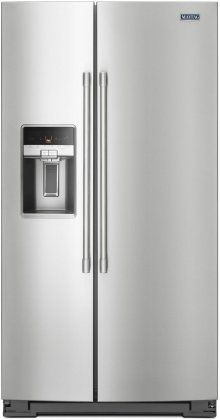 Maytag MSC21C6MFZ 36 Side by Side Counter-Depth 21 cu. ft. Refrigerator (Stainless)