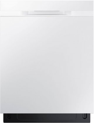 Samsung DW80K5050UW 24 Energy Star Built-In Dishwasher with 15 Place Settings, Hard Food Disposer (White)