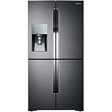 Samsung RF28K9380SG Black Stainless Steel 36 Door-in-Door French Door Refrigerator with 27.8 cu. ft. Capacity (Black Stainless Steel)