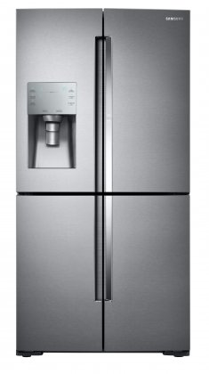 Samsung RF28K9380SR 36 4-Door 28 cu. ft. Refrigerator with  Food Showcase and Triple Cooling System (Stainless)