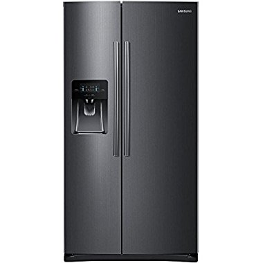 Samsung RS25J500DSG 25 cu. ft. Black Stainless Side-by-Side Refrigerator