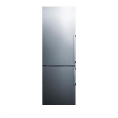 Summit FFBF246SSLHD 24 Bottom Freezer Refrigerator with 7.93 Cu. Ft. Refrigerator Capacity  3.42 Cu. Ft. Freezer Capacity
