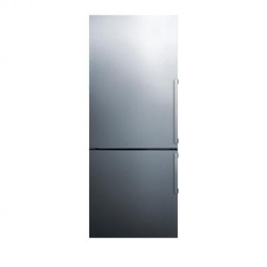 Summit FFBF286SSLHD 28 Energy Star Bottom Freezer Refrigerator with 16.8 cu. ft. Capacity (Stainless Steel, Left Hinge)