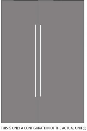 Thermador Freedom Panel Ready 54 Built-In Refrigeration Set with T24IR800SP 24 All Refrigerator and T30IF800SP 30 All