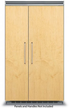 Viking FDSB5483 48 Custom Panel Ready Side-by-Side Refrigerator