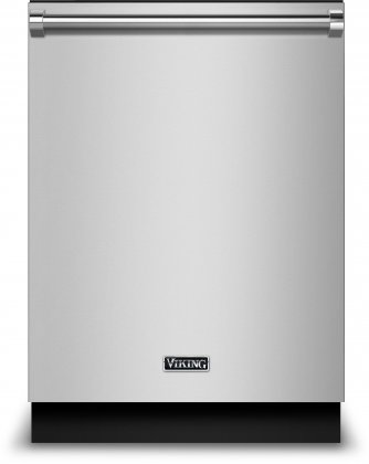 Viking RVDW103WSSS 24 Energy Star Rated Built In Dishwasher with 14 Place Settings  Daily Wash Cycle  Triple Filtration System  2 Adjustable Upper Rack  Cutlery