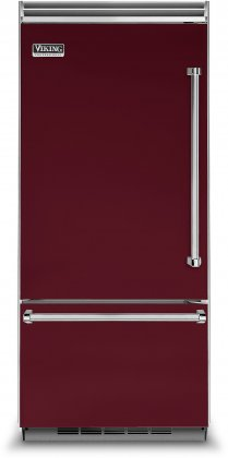 Viking VCBB5363ELBU 36 Professional 5 Series Bottom Freezer Refrigerator with 20.4 cu. ft. Capacity