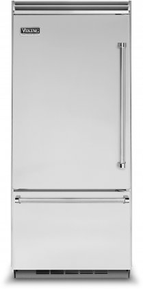Viking VCBB5363ELSS 36 Professional 5 Series Bottom Freezer Refrigerator with 20.4 cu. ft. Capacity
