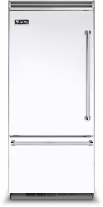 Viking VCBB5363ELWH 36 Professional 5 Series Bottom Freezer Refrigerator with 20.4 cu. ft. Capacity