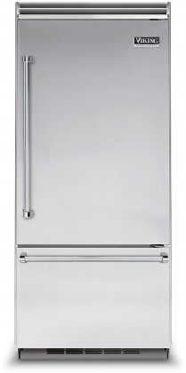 Viking VCBB5363ERSS 36 Professional 5 Series Bottom Freezer Refrigerator with 20.4 cu. ft. Capacity
