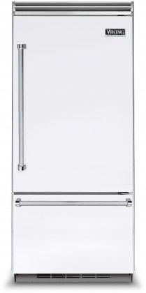 Viking VCBB5363ERWH 36 Professional 5 Series Bottom Freezer Refrigerator with 20.4 cu. ft. Capacity