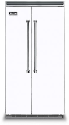 Viking VCSB5423WH 42 Professional 5 Series Side-by-Side Refrigerator (White)
