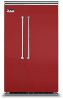 Viking VCSB5483AR  48 Professional 5 Series 29 cu. ft. Side-by-Side Refrigerator