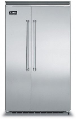 Viking VCSB5483SS 48 Professional 5 Series 29 cu. ft. Side-by-Side Refrigerator