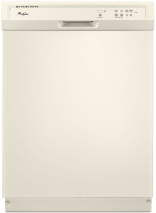Whirlpool WDF120PAFT 24 Built-In Full Console Dishwasher with 12 Place Settings  1-Hour Wash Cycle  High Temperature Wash Option and  Heated Dry:
