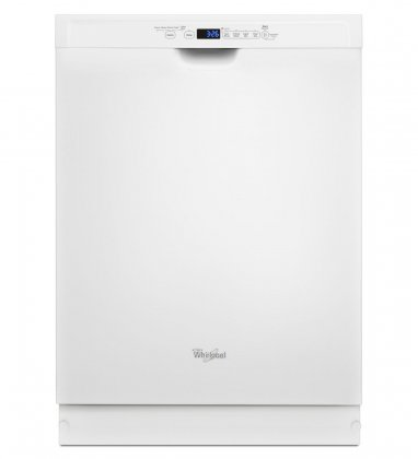 "Whirlpool WDF560SAFW 24"" Dishwasher With Adaptive Wash Technology"