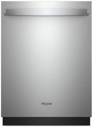 Whirlpool WDT750SAHZ 24 Energy Star Built-In Fully Integrated Dishwasher with 5 Cycles  6 Options  47 dBA Noise Level  and Stainless Steel Tub  in Fingerprint Resistant