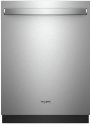 Whirlpool WDT970SAHZ 24 Energy Star Built-In Fully Integrated Dishwasher with 5 Cycles  6 Options  47 dBA Noise Level  and Stainless Steel Tub  in Fingerprint Resistant