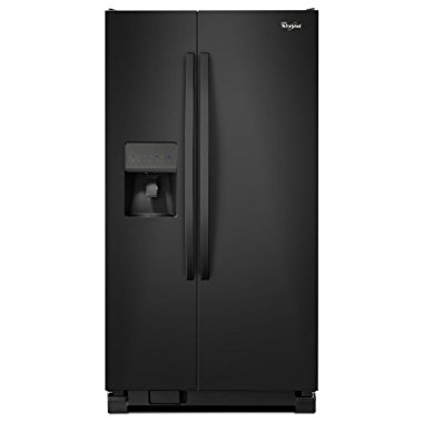 Whirlpool WRS325FDAB 25.4 Cu. Ft. Black Side-By-Side Refrigerator Energy Star