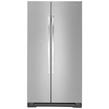 Whirlpool WRS325FNAM 25.2 Cu. Ft. Stainless Steel Side-By-Side Refrigerator Energy Star