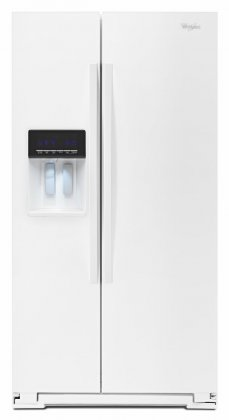 Whirlpool WRS571CIDW 36 Side-by-Side Refrigerator with 21 cu. ft. Capacity, PUR Water and Ice Filtration