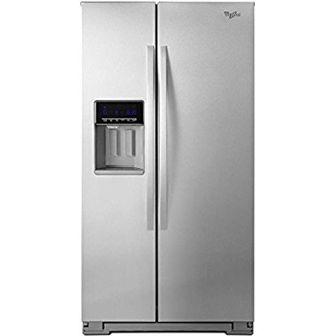Whirlpool WRS576FIDM 25.6 Cu. Ft. Stainless Steel Side-By-Side Refrigerator Energy Star