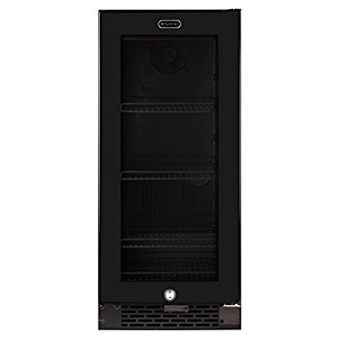 Whynter BBR-801BG Built-in Glass 80-Can Capacity Beverage Refrigerator (Black)