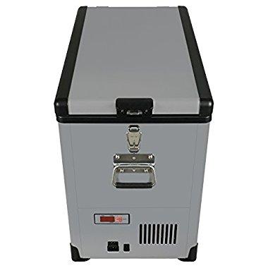 Whynter FM-452SG Elite 45 quart Slim Fit Portable Freezer/Refrigerator with 12V Option