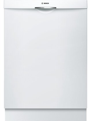 Bosch 300 Series SHS63VL2UC 24 Fully Integrated Scoop Handle Dishwasher in White