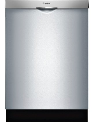 Bosch 300 Series SHS63VL5UC 24 Fully Integrated Scoop Handle Dishwasher in Stainless Steel