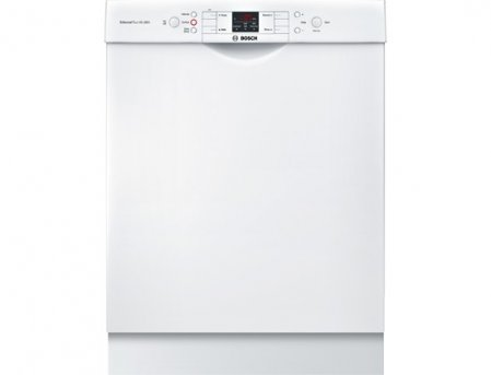 Bosch SGE53U52UC 24 300 Series Energy Star Rated Dishwasher with 13 Place Setting Capacity in White