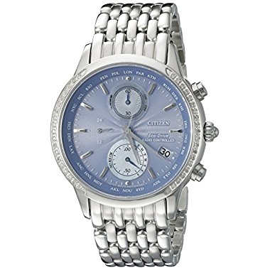 Citizen Eco-Drive FC5000-51L World Chronograph A-T Women's Watch