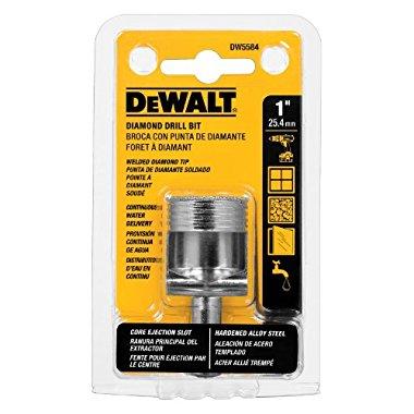 DeWalt DW5584 1 Diamond Drill Bit