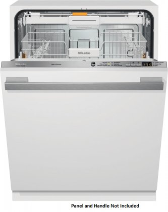 G6165SCVI | Miele Futura Crystal Dishwasher Accepts Custom Cabinet Panels