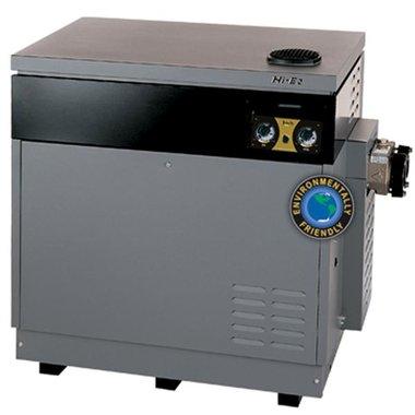 Hi-E2 350,000 BTU, Bronze Headers, ASME HSI, Dual Thermostat, Natural Gas, Pool Heater