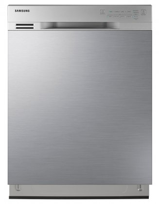 "Samsung DW80J3020US 24"" Built-In Stainless Steel Dishwasher"