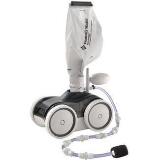 Kreepy Krauly Grey Top, White Bottom Pressure Side Pool Cleaner w/ Booster Pump