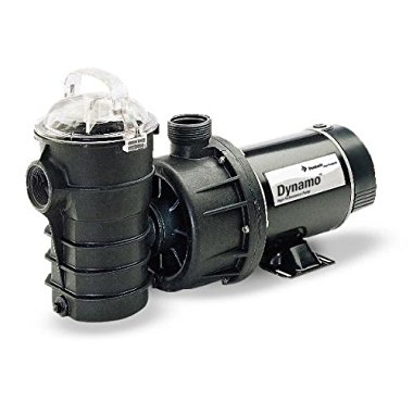 Pentair 340103 Stainless Steel Black Dynamo Single Speed Pump without Cord, 3/4-HP