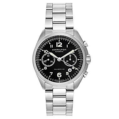Hamilton Khaki Aviation Silver Stainless Steel Men's Watch (H76416135)