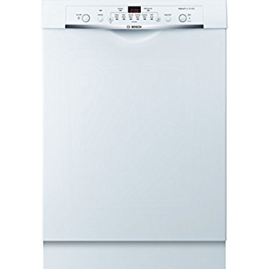 Bosch SHE3AR72UC Ascenta 24 White Full Console Dishwasher Energy Star
