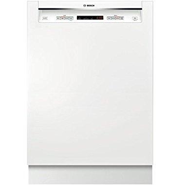 Bosch SHE53T52UC 300 24 White Semi-Integrated Dishwasher Energy Star