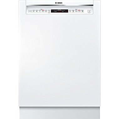 Bosch SHE68T52UC 800 24 White Semi-Integrated Dishwasher Energy Star