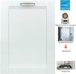 Bosch SHV68TL3UC 800 Series 24 Dishwasher (Custom Panel Ready)