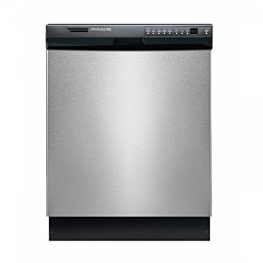 Frigidaire FDB2410HIC Gallery 24 Inch, Built-In Dishwasher, Stainless Steel