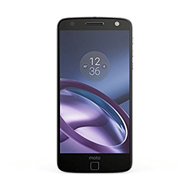 Moto Z Unlocked Smartphone with 5.5 Quad HD screen, 64GB storage, 5.2mm Thin