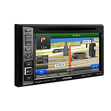 Alpine INE-W960 Navigation GPS Receiver with 6.1 Touchscreen