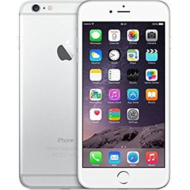 Apple iPhone 6 Plus 128GB Factory Unlocked GSM 4G LTE Cell Phone Silver