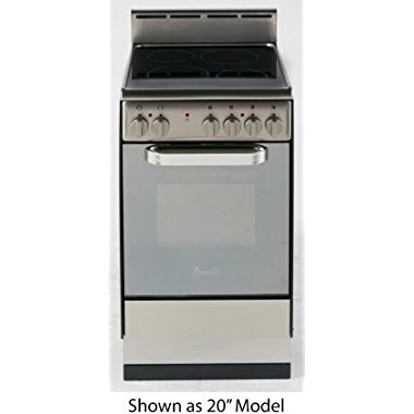 Avanti DER242BS 24 Electric Freestanding Range